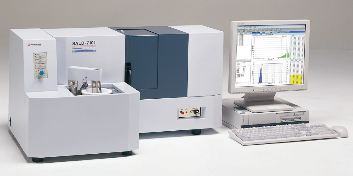 Fig. 1: Nano Particle Size Analyzer SALD-7101